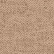 Canvas jute imitation wallpaper brown