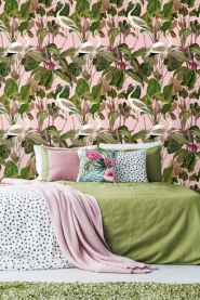 Premium wallpaper Beverly Hills Flamingo