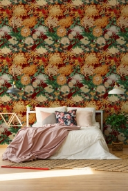 Premium wallpaper Chrysantemums