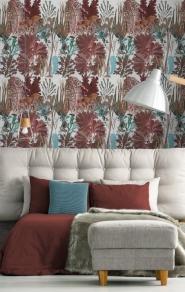 Premium wallpaper Coral reef red