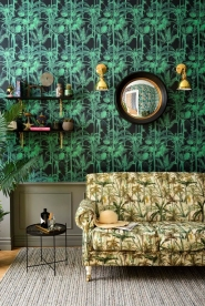 Premium wallpaper Palmera Cubana Dark