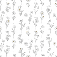 Lilipinso wallpaper chamomile flowers