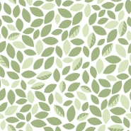 Lilipinso wallpaper green leaves