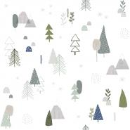 Lilipinso wallpaper pine tree