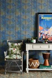 Premium wallpaper Havanna Regatta Blue