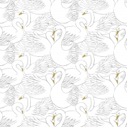 Lilipinso wallpaper swans