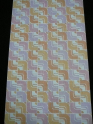 geometric wallpaper in pastel colors