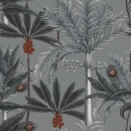 Premium wallpaper Madagascar Grey