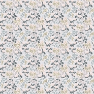 Lilipinso wallpaper little flowers blue, pink