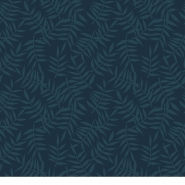Lilipinso wallpaper leaves blue black