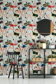 Premium wallpaper Kiss my ass