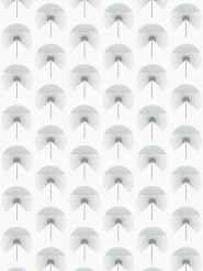 LAVMI wallpaper Fluff blue-grey