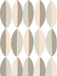 LAVMI wallpaper Ficus pink grey geometric figure