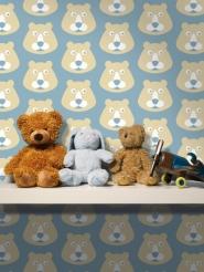 papeir peint pour enfants ours
