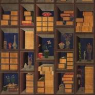 Premium wallpaper Korean Library Chromo