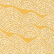 Miss Print wallpaper Frontier yellow