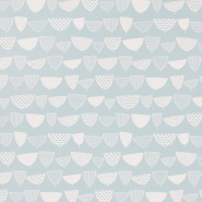 Miss Print wallpaper Allsorts blue