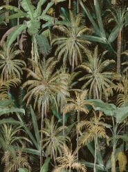 Premium wallpaper The Jungle Anthracite