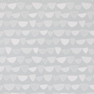 Miss Print wallpaper Allsorts grey