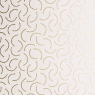 Miss Print wallpaper Tarn white copper