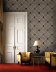 Premium wallpaper Nobility Grey