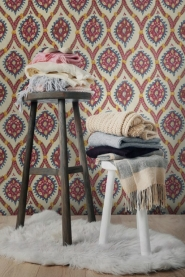 Premium wallpaper Ottoman Taupe