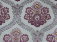 pink grey damask wallpaper