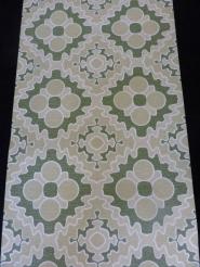 green beige geometric pattern