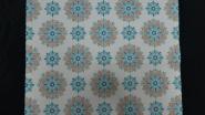 blue flowers vintage wallpaper