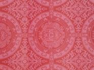 dark red geometric vintage wallpaper
