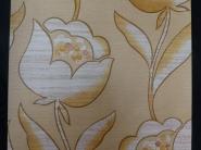 vintage floral wallpaper brown