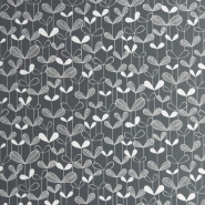 Miss Print wallpaper Saplings black