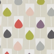 Scion Lohko wallpaper Sula pink purple grey green