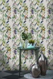 tropical birds wallpaper