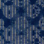 Premium wallpaper Washed Shibori Indigo