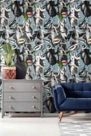 Premium wallpaper Watch out blue