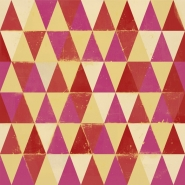 Circus pattern yellow red