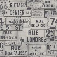 Street names black white