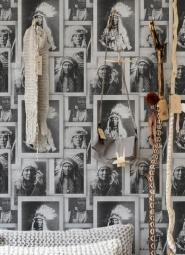 Indian chiefs black white