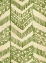 Premium wallpaper Turkish Ikat green