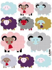 sheep stickers