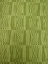 geometric vintage wallpaper green