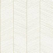 ESTA wallpaper white and gold