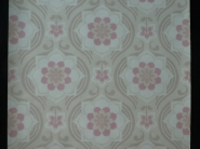Grey pink damask vintage wallpaper