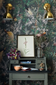 Premium wallpaper Royal Garden grey
