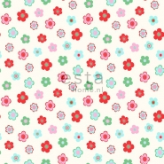 ESTA wallpapar little flowers red green