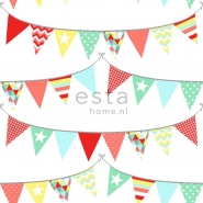 ESTA wallpapar flags red yellow blue