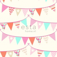 ESTA wallpapar flags pink orange