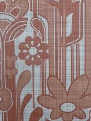 vintage red floral wallpaper