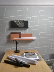 LAVMI wallpaper Gap grey